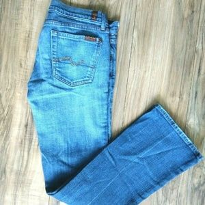 7 For All Mankind Womens Jeans Size 29 Kimmie Boot